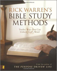 RICKWARREN'S BIBLE STUDY METHODS