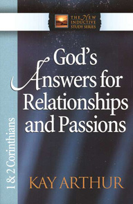 1&2 CORINTHIANS - GOD'S ANSWERS FOR RELATIONSHIP..