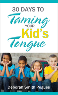 30 DAYS TO TAMING YOUR KID'S TONGUE