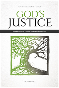 NIV - GOD'S JUSTICE BIBLE